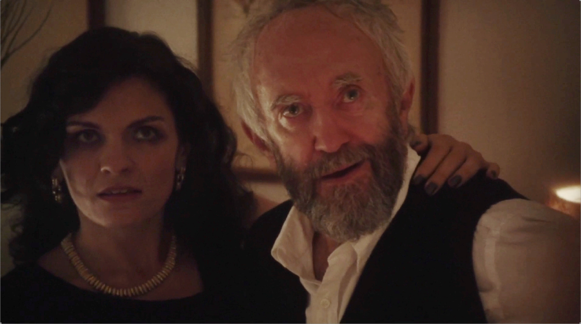 With Jonathan Pryce on Listen Up Philip